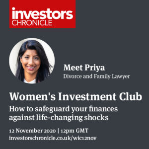 Women's Investment Club poster